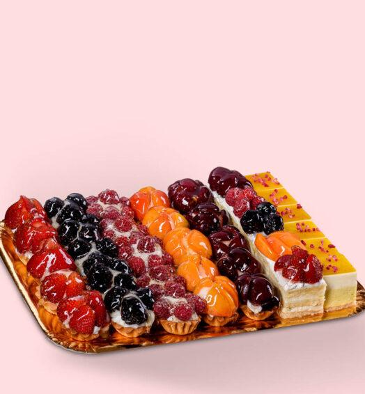 Platou miniprăjituri Fructa