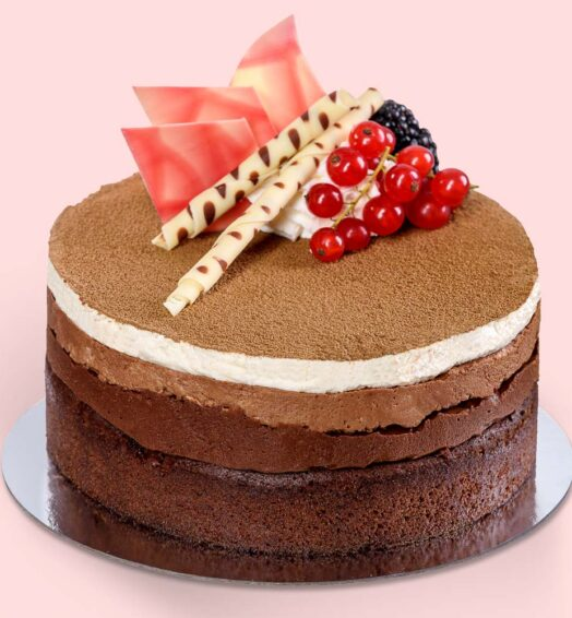 Tort 3 Mousse Ciocolată