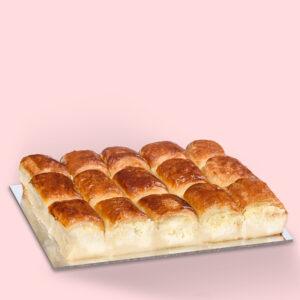 Plăcintă dobrogeană cu brânză și smântână – mare