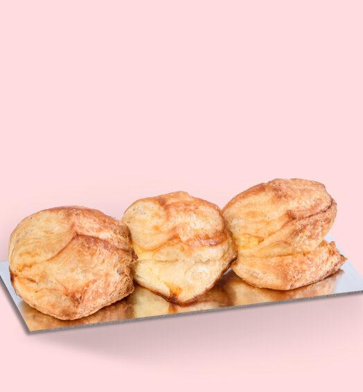 Minipateuri cu brânză