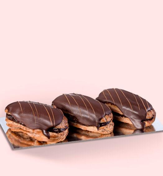 Miniecler ciocolată