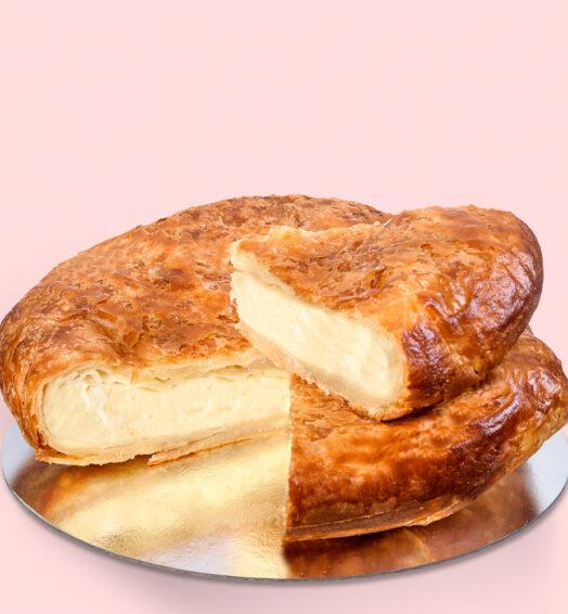 Plăcintă dobrogeană cu brânză sărată – mare