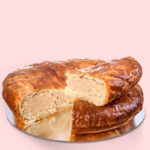 Plăcintă dobrogeană cu carne – mare