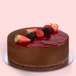 Tort Strawberry Crispy Chocolate Mousse